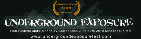 Underground Exposure Film Festival Minneapolis MN