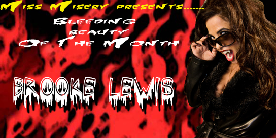 Bleeding Beauty of the Month August 2009 Brook Lewis